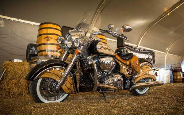 indian motorcycles jack daniels chief vintage limited edition