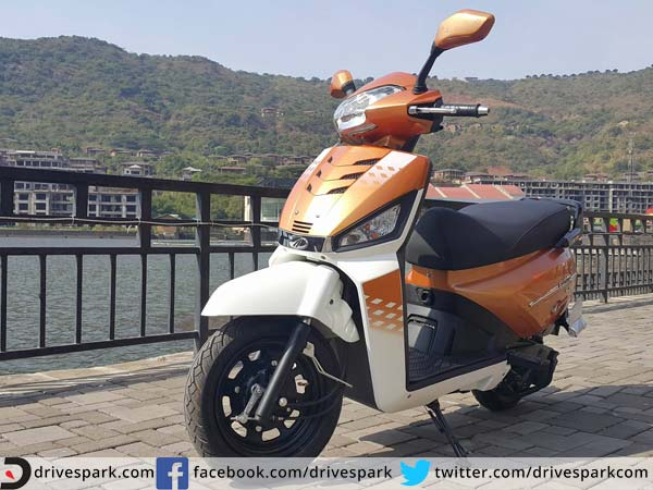 mahindra gusto 125cc first ride review