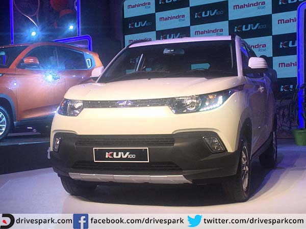 kuv100 front profile