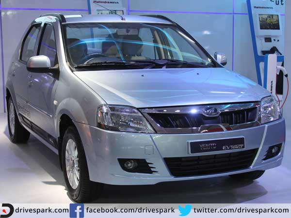 mahindra verito electric launch at auto expo