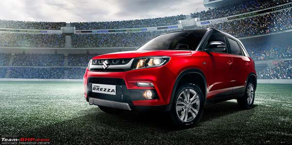 Maruti's Brezza Images Leaked