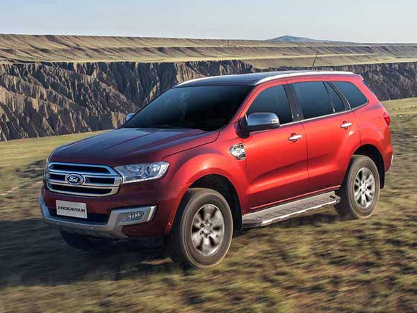 ford endeavour india launch date