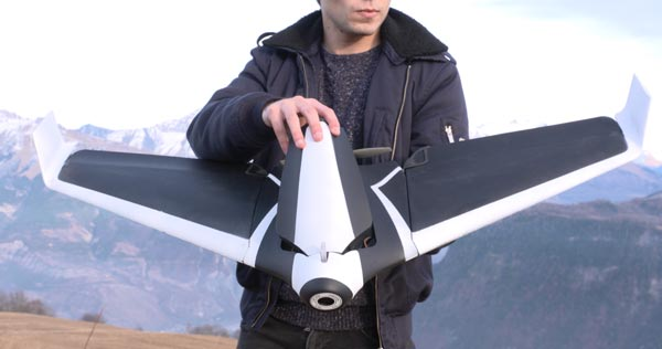 parrot disco fixed wing design