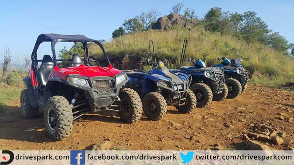 polaris atv lineup front