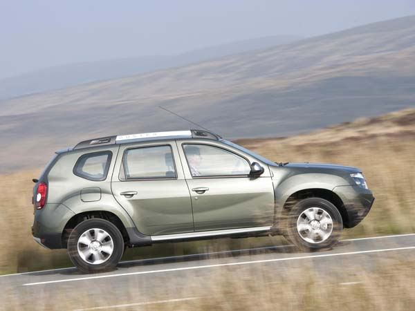 renault new duster side profile