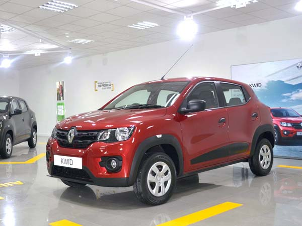 renault kwid india booking