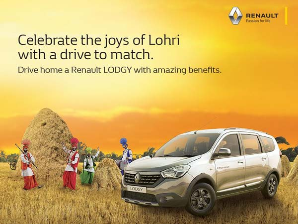 renault lodgy lohri offer