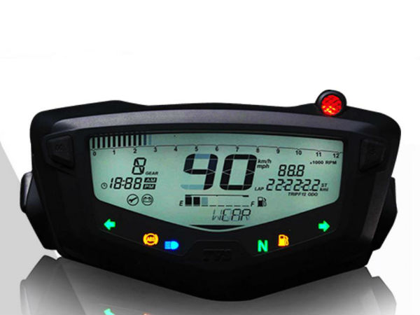 tvs apache meter console