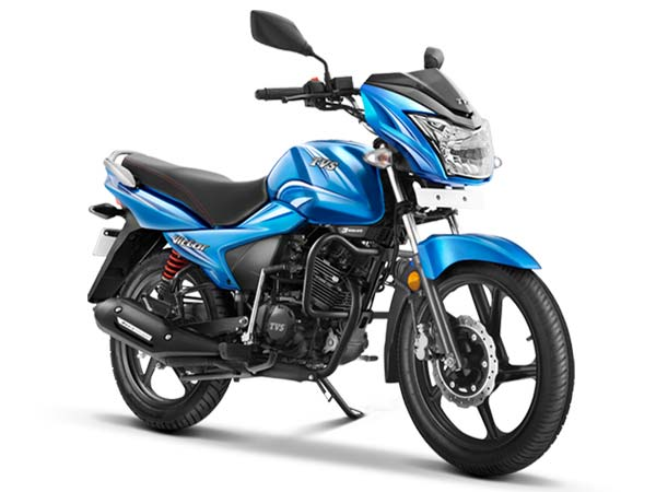 tvs victor launched in india