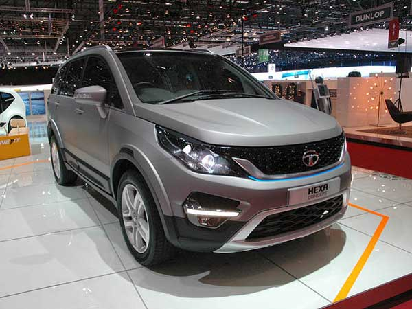 upcoming vehicle launches in india tata hexa