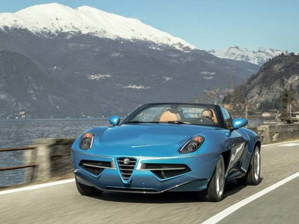 Alfa Romeo Disco Volante Spider Revealed Ahead Of Geneva ...