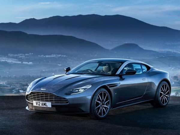 aston martin db11 front profile leaked