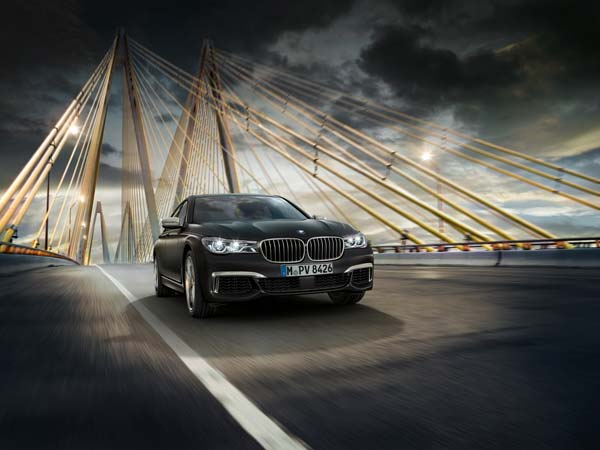 bmw m760li xdrive v12 showcased
