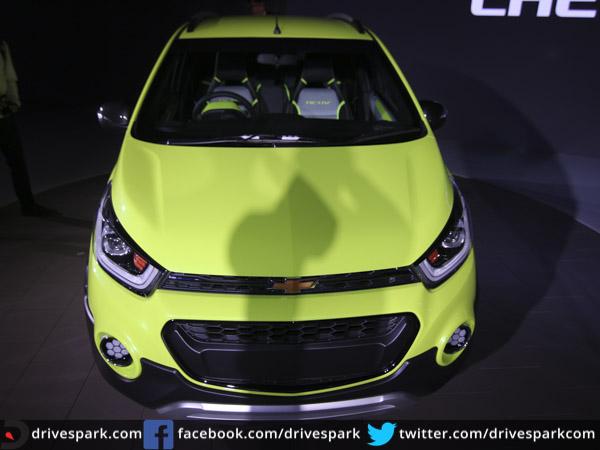 2016 Delhi Auto Expo Top 10 Concept Cars: Auto Expo 2016: Chevrolet Beat Activ Concept Unveiled
