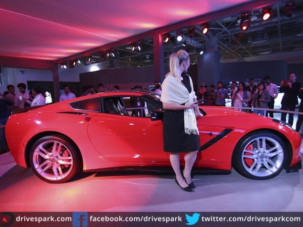 Wonderful Auto Expo 2016 Chevrolet Corvette StingRay Makes India Debut