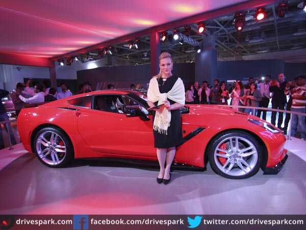 Innovative Auto Expo 2016 Chevrolet Corvette StingRay Makes India Debut
