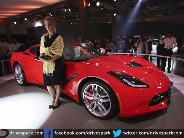 Unique Auto Expo 2016 Chevrolet Corvette StingRay Makes India Debut