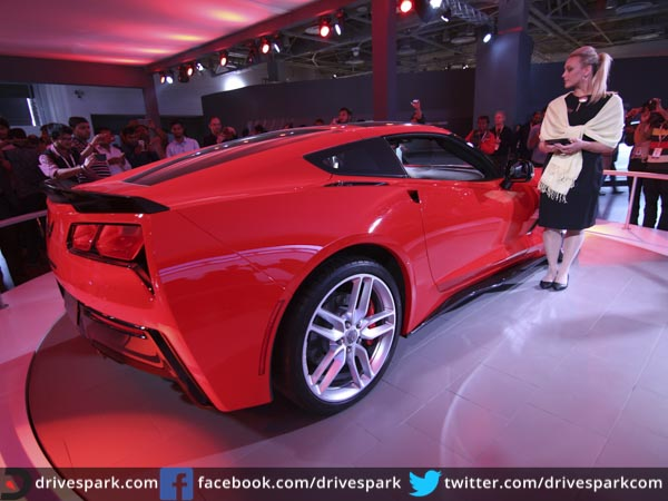 Cool Auto Expo 2016 Chevrolet Corvette StingRay Makes India Debut