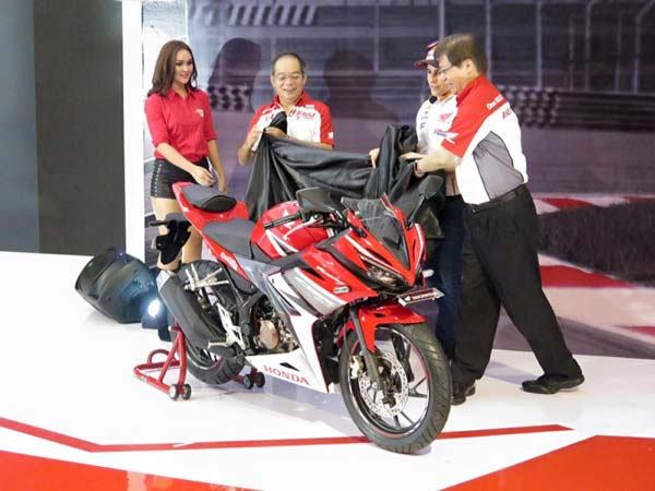 honda 2016 cbr150r launch