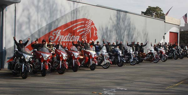 indian motorcycles riders group launch