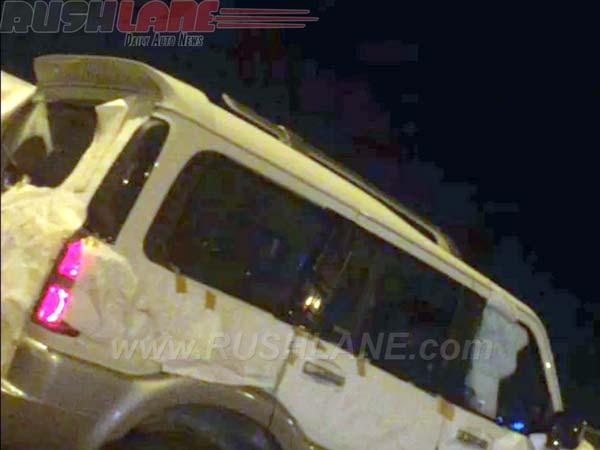 mahindra scorpio special edition spy images