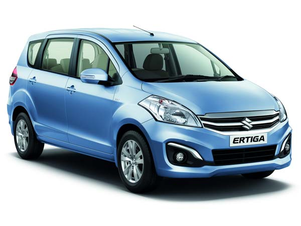 maruti ertiga side design