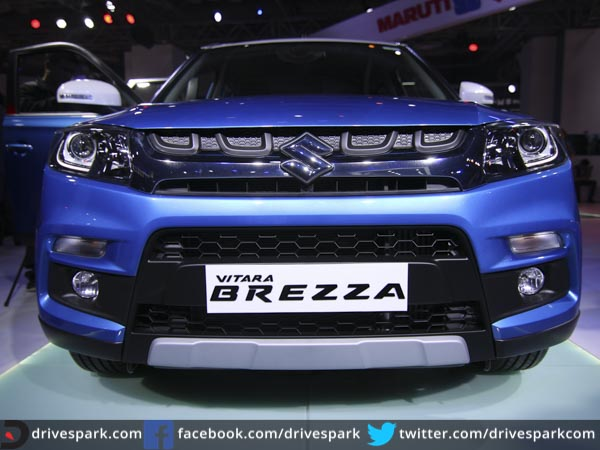 Maruti Suzuki Vitara Brezza First Look Review Drivespark