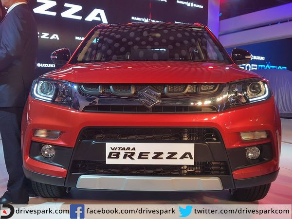 maruti might introduce a petol vitara brezza