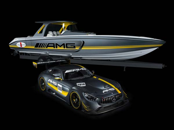 "Mercedes-AMG GT3 inspires most powerful ""Open Performance"" boat ever produced"