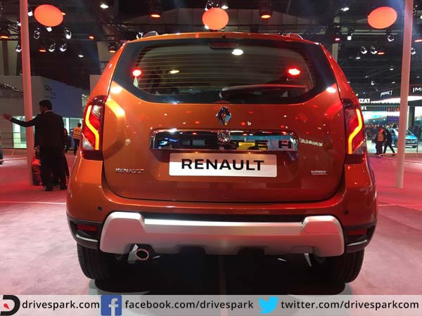 renault duster 2016 amt exterior