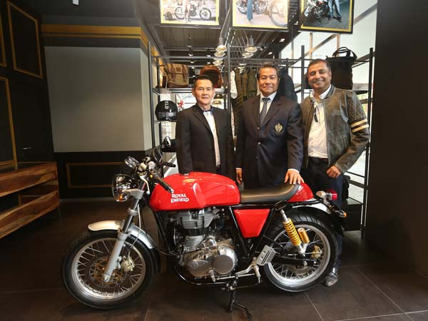 royal enfield exclusive store in bangkok
