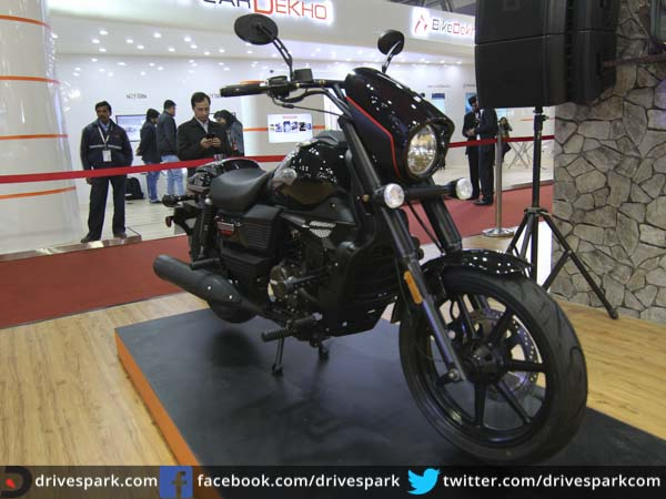 best bikes at auto expo cruiser three