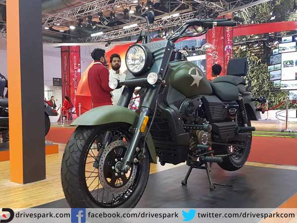 best bikes at auto expo cruiser one