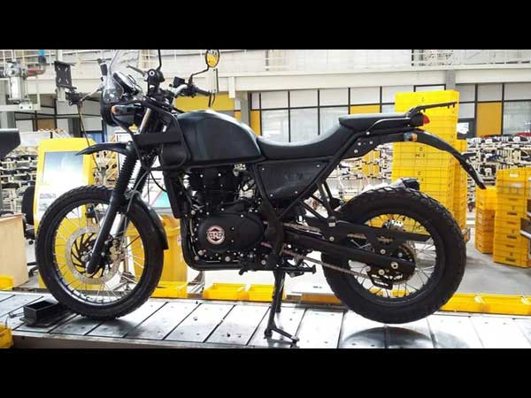 royal enfield developing a twin-cylinder motorcycle