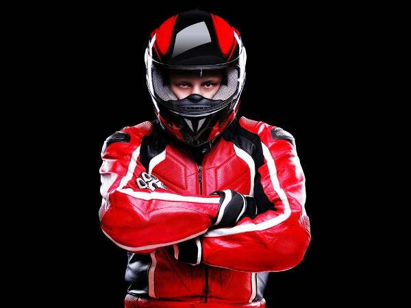 8.  Wear A Full Face Helmet With A Clear Visor