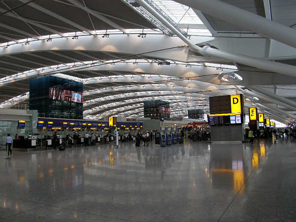 8. London Heathrow Airport