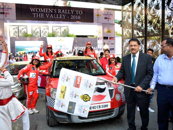jk tyre womens rally to the valley