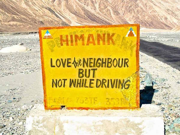 Funny Road Signs: Incredible India Or Creative India?