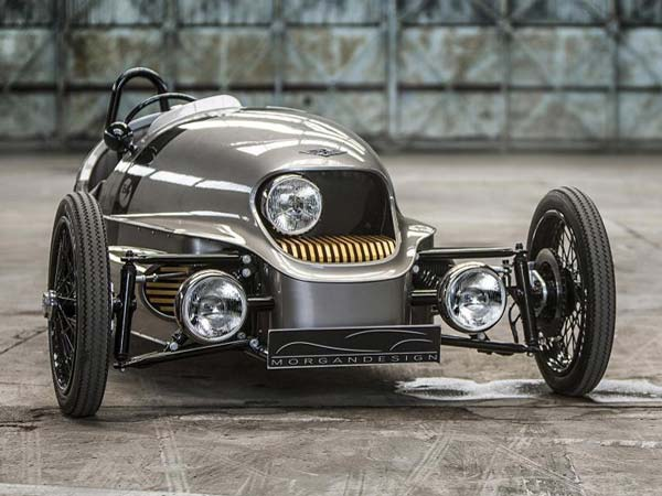 morgan ev3 electric three wheeler
