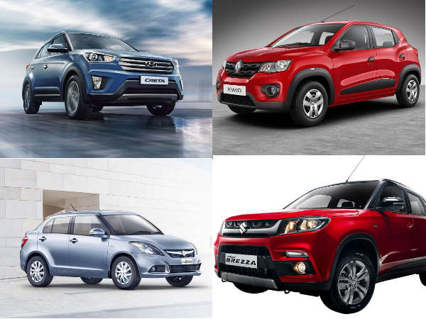 best base variant cars in india 2016