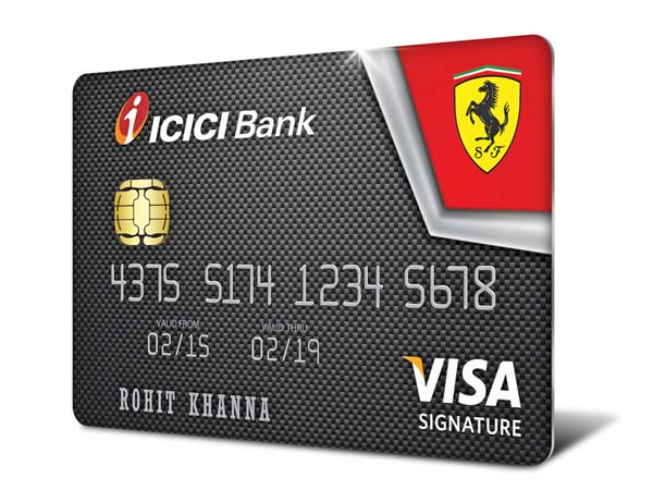 ferrari credit cards