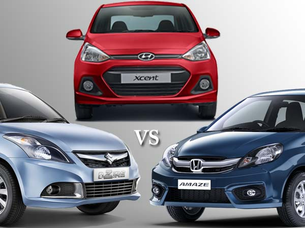 honda-amaze-2016-vs-swift-dzire-vs-hyundai-xcent