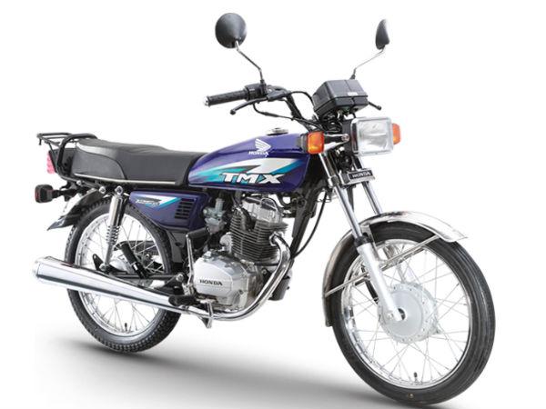 Honda Motorcycle Tmx  Price