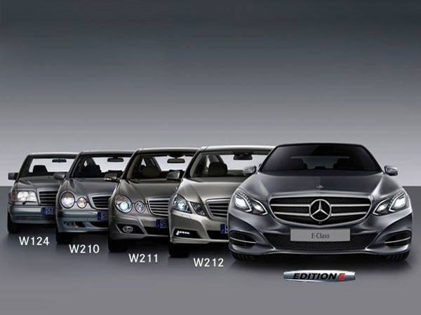 history of mercedes benz e class in india generations