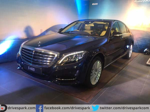 mercedes s400 india launch