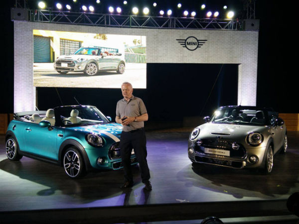 mini convertible india launch