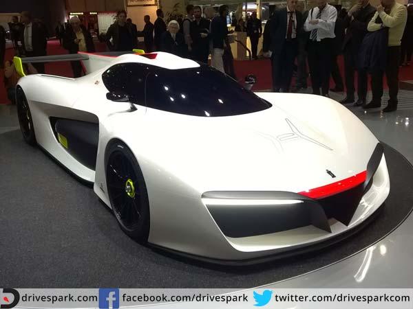Pininfarina H2 Speed Concept: 2016 Geneva Motor Show: Pininfarina H2 Speed Concept