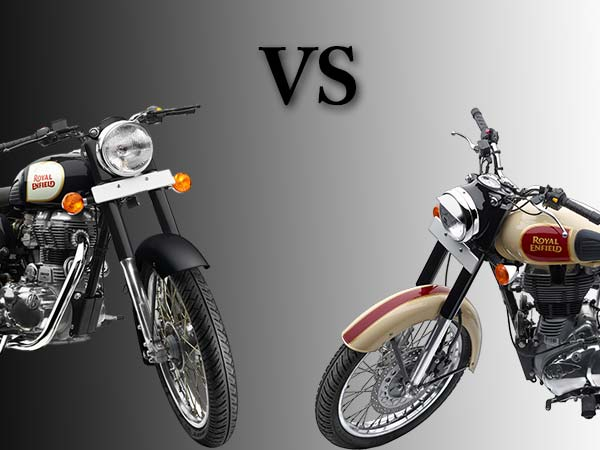 Royal Enfield Classic 350 Vs Classic 500 Specs Prices Features