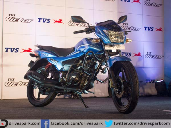 tvs victor bangalore launch