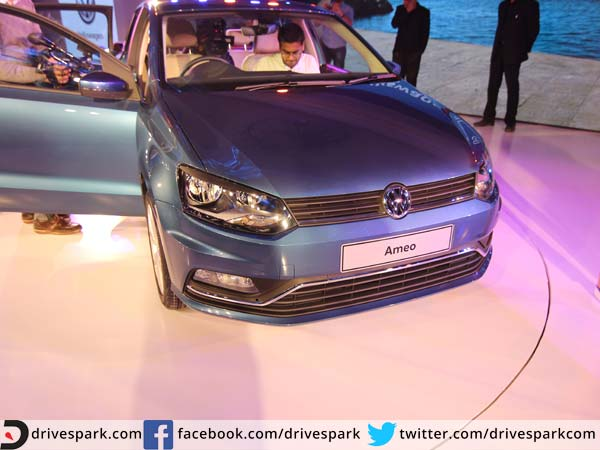 volkswagen ameo exterior and interior